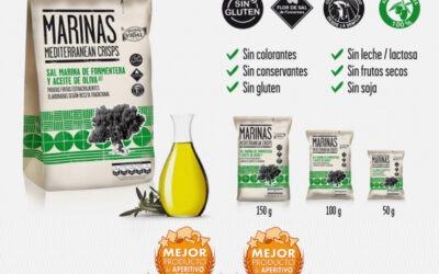 MARINAS OLIVA, premio a la mejor Patata Frita y al Mejor Producto de Aperitivo 2016