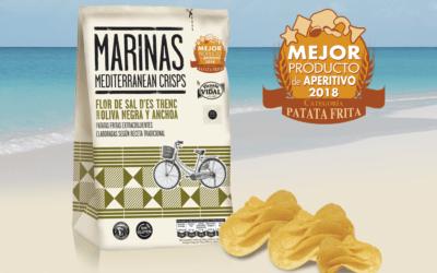 MARINAS OLIVA NEGRA Y ANCHOA, premio a la mejor Patata Frita 2018
